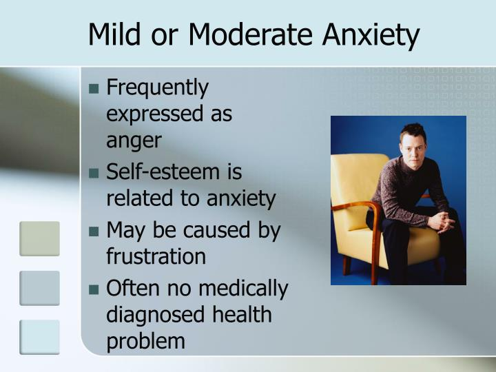 Mild or Moderate Anxiety