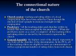 the connectional nature of the church