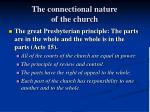 the connectional nature of the church1