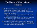 the nature of church power spiritual1