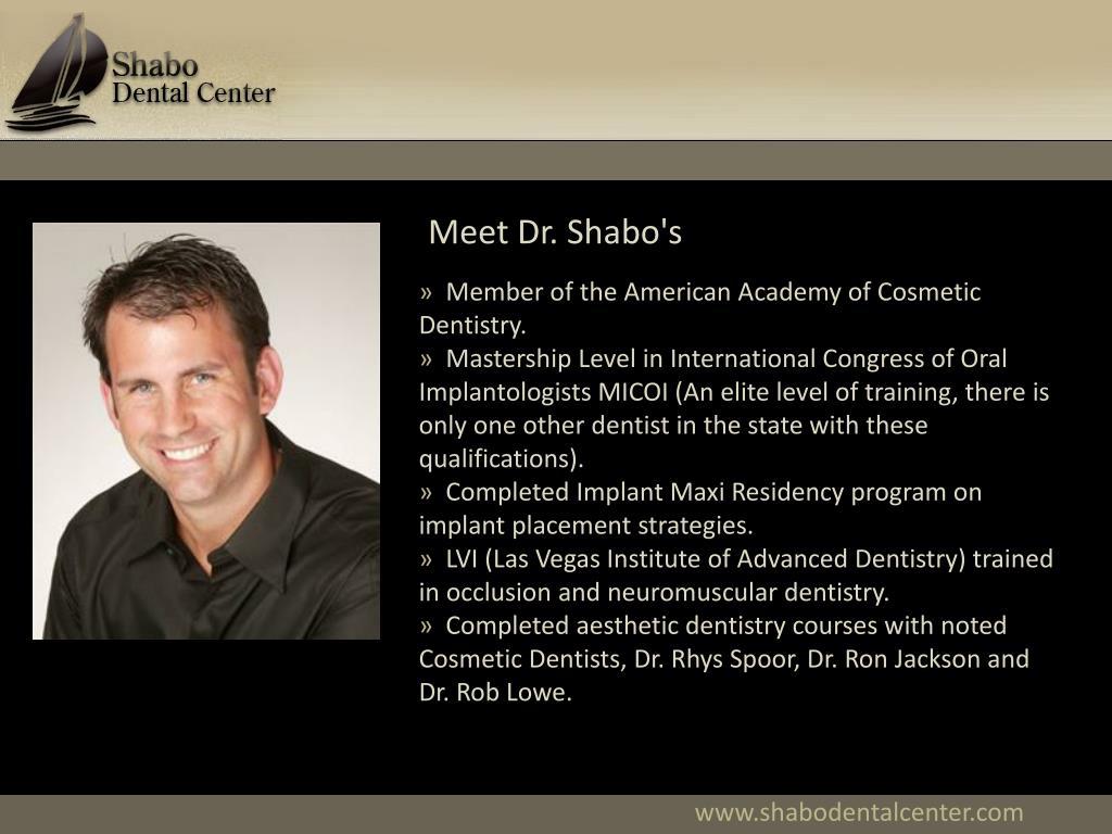 Meet Dr. Shabo's