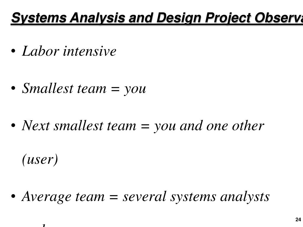 Ppt Systems Analysis And Design Introduction Powerpoint Presentation Id 871679