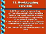 11 bookkeeping services