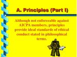 a principles part i