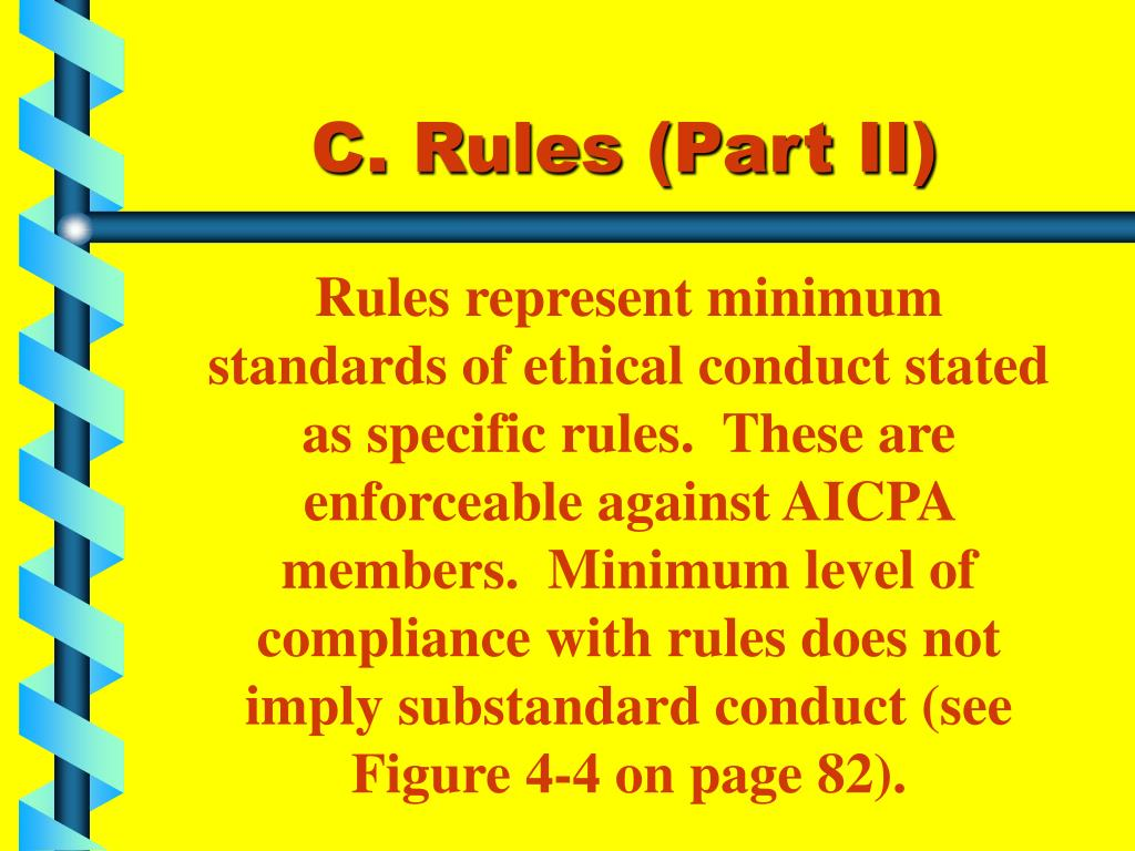C. Rules (Part II)