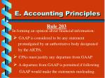 e accounting principles