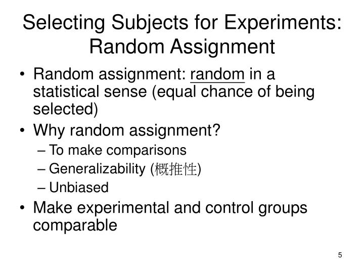 why can be hit-or-miss theme applied around experiments