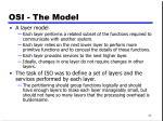 osi the model