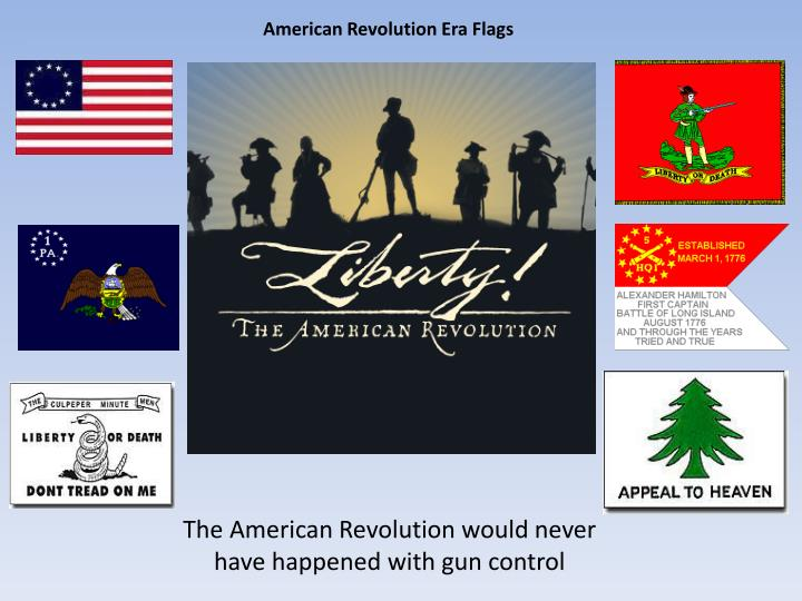 American Revolution Era Flags