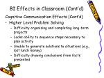 bi effects in classroom cont d1