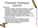 treatment techniques cont d3