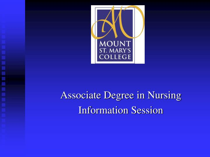 associate degree in nursing information session n.