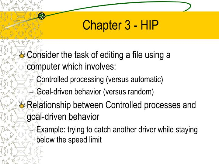 Chapter 3 hip