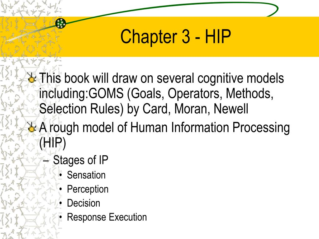 Chapter 3 - HIP