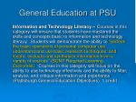 general education at psu3
