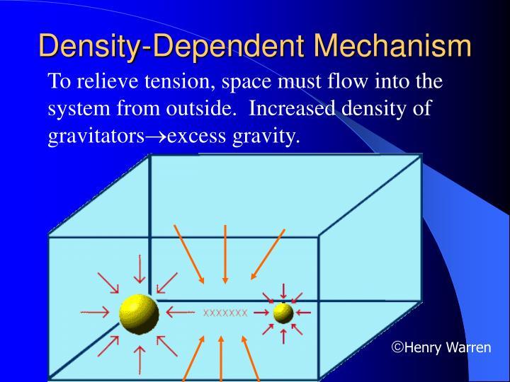Density-Dependent Mechanism