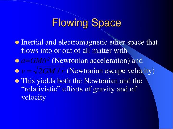 Flowing Space