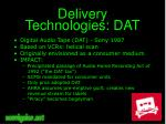 delivery technologies dat
