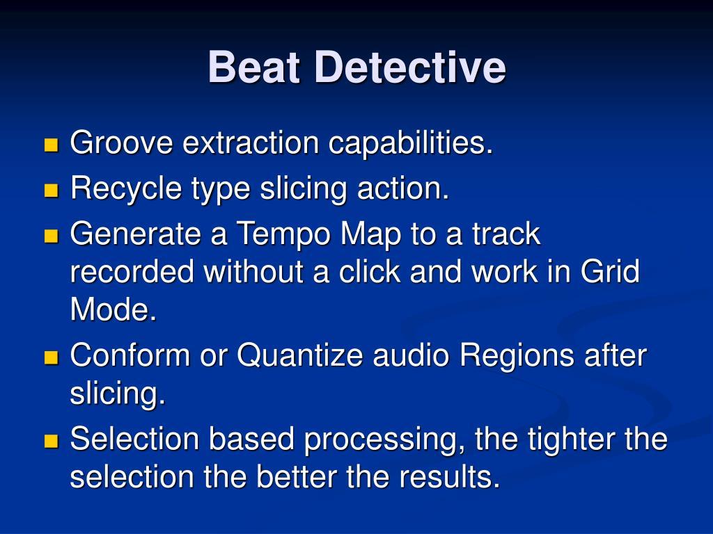 Beat Detective