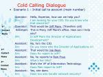 cold calling dialogue1