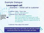 example dialogue1