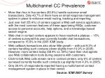 multichannel cc prevalence