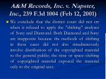 a m records inc v napster inc 239 f 3d 1004 feb 12 2001