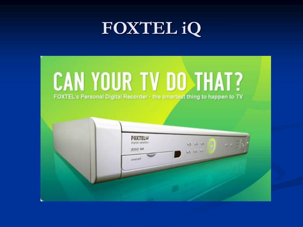 FOXTEL iQ