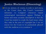 justice blackmun dissenting15