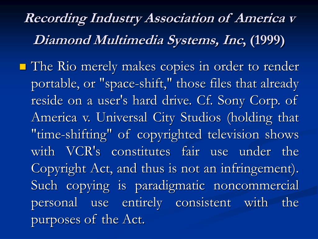 Recording Industry Association of America