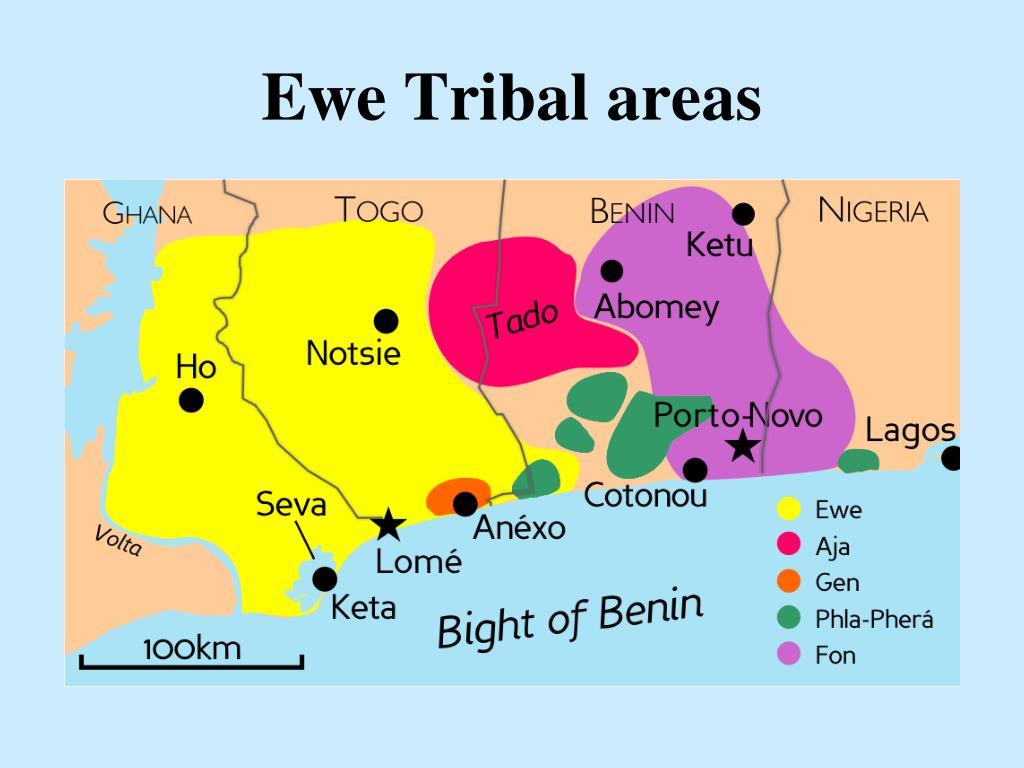 Ewe Tribal areas