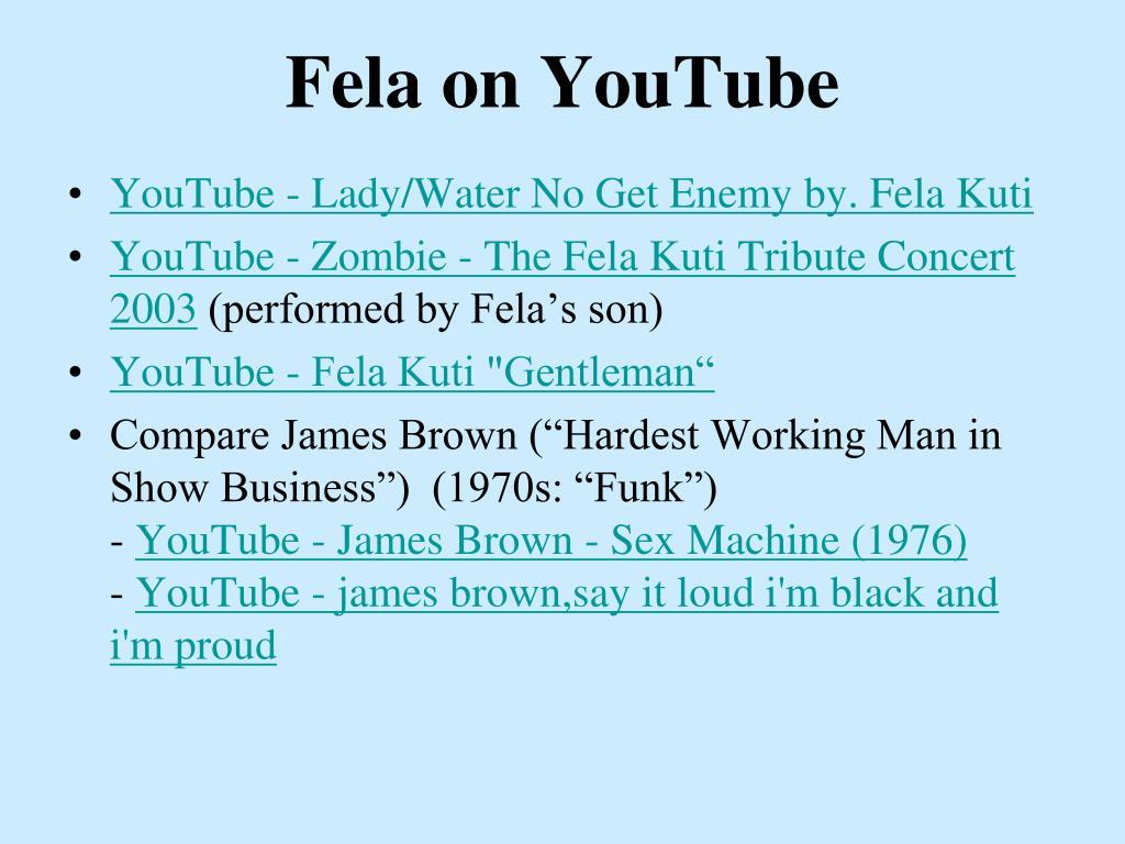 Fela on YouTube