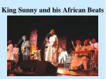 king sunny and his african beats