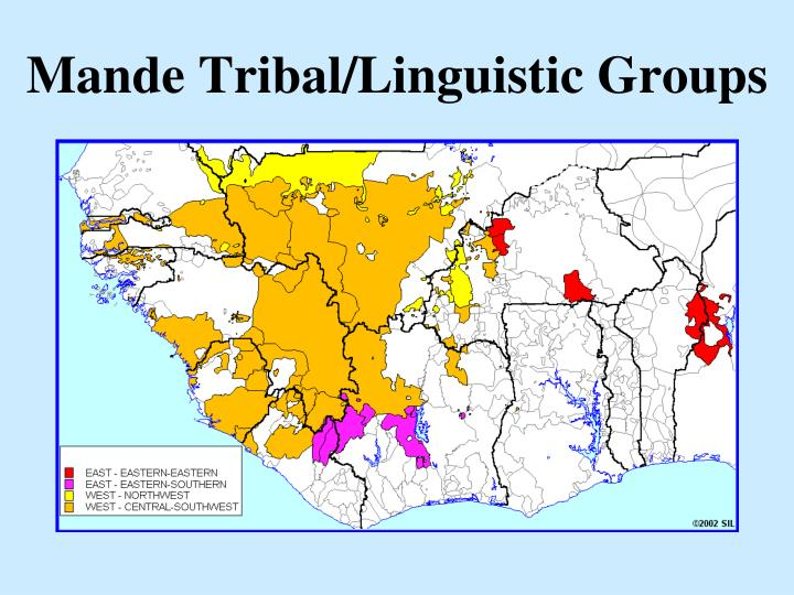Mande tribal linguistic groups