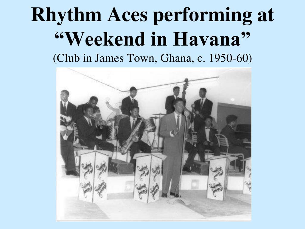 """Rhythm Aces performing at """"Weekend in Havana"""""""