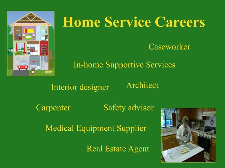 Home Service Careers
