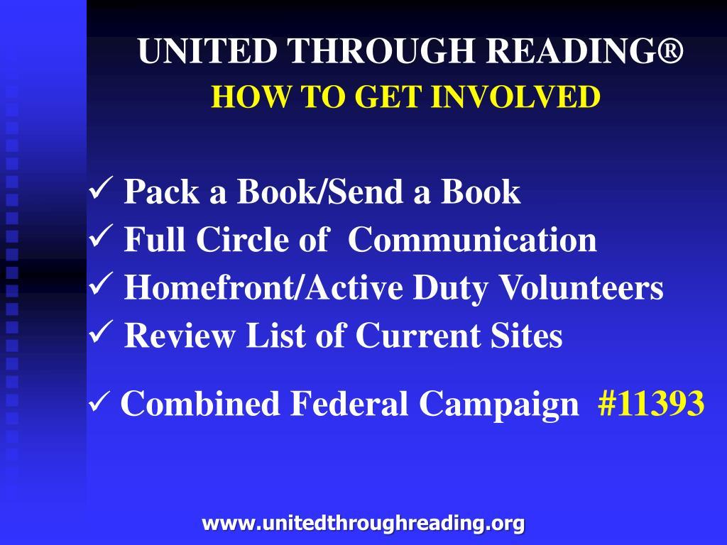 UNITED THROUGH READING®