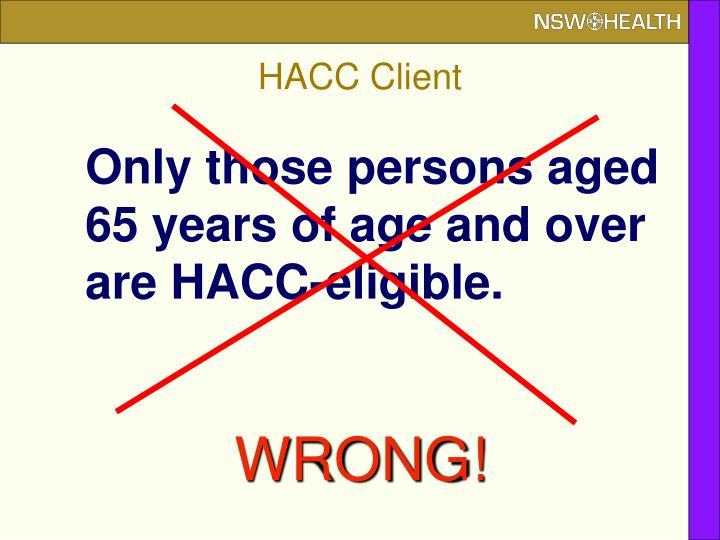 HACC Client