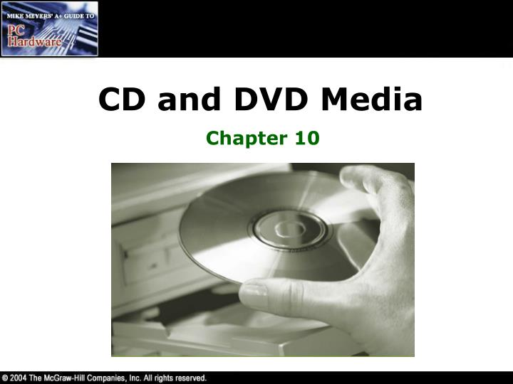 Cd and dvd media