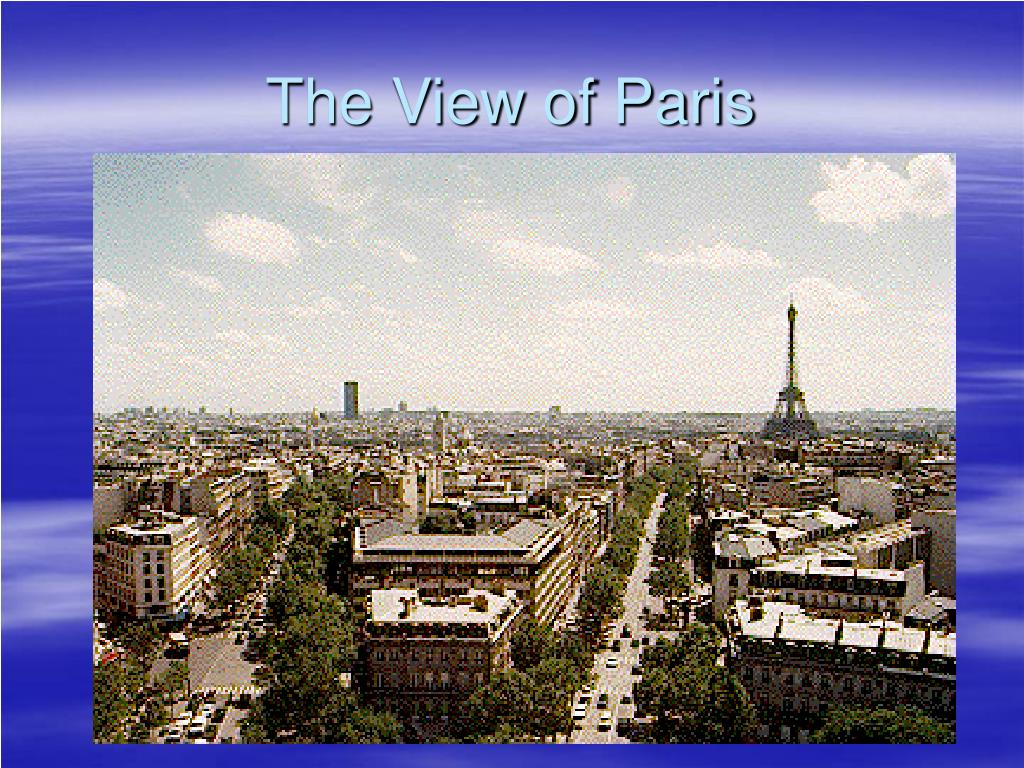 The View of Paris