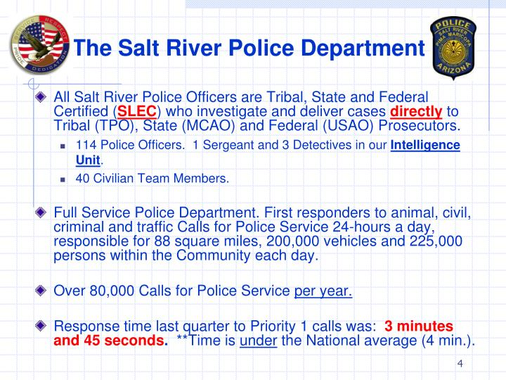 The Salt River Police Department