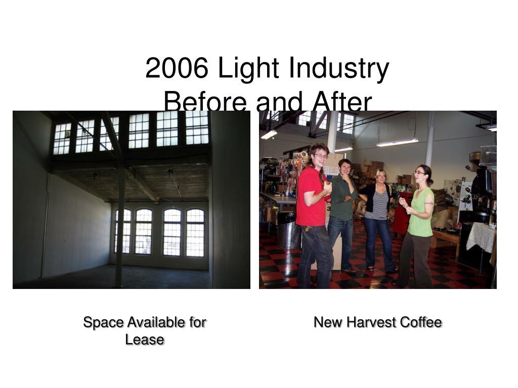 2006 Light Industry