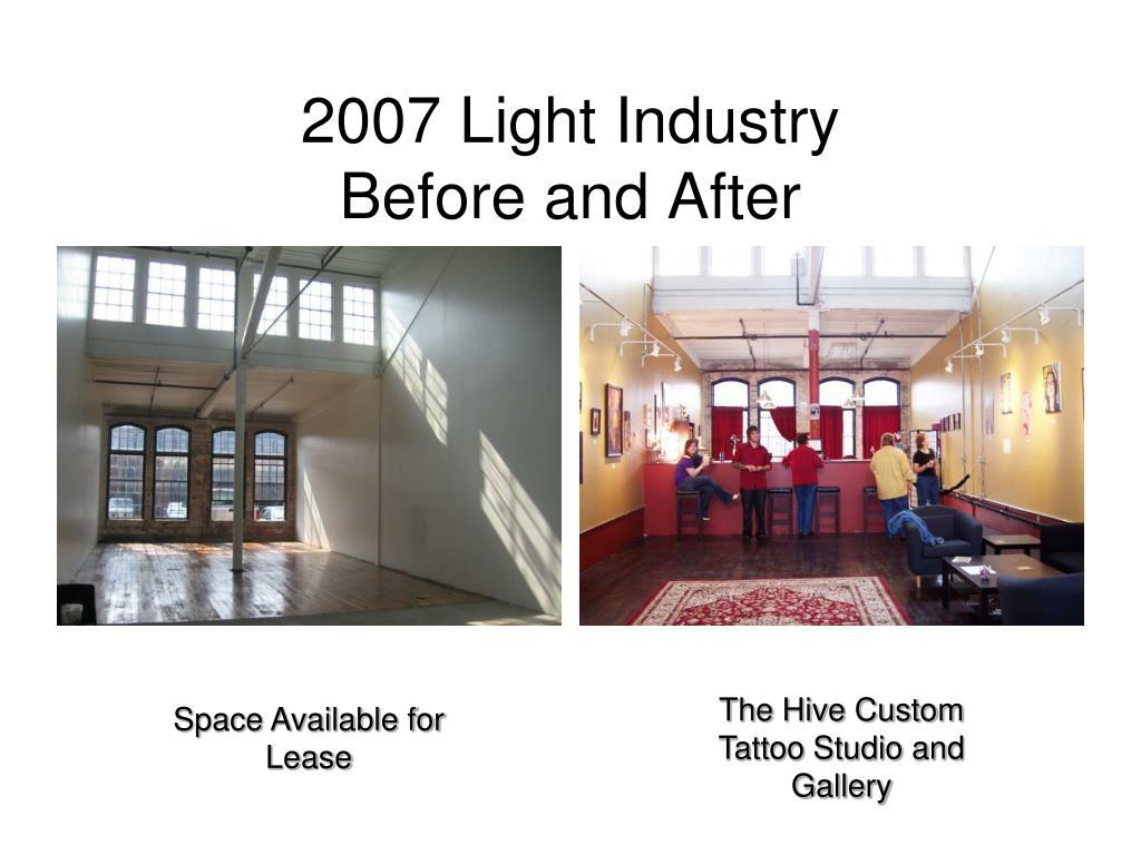 2007 Light Industry