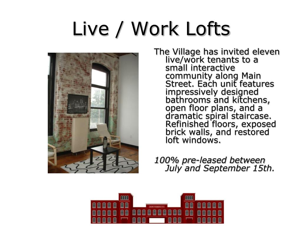 Live / Work Lofts