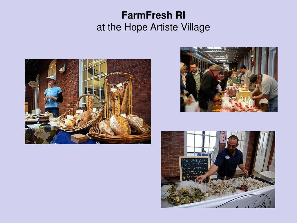FarmFresh RI