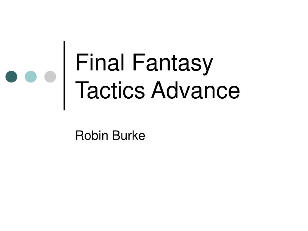final fantasy tactics advance l.