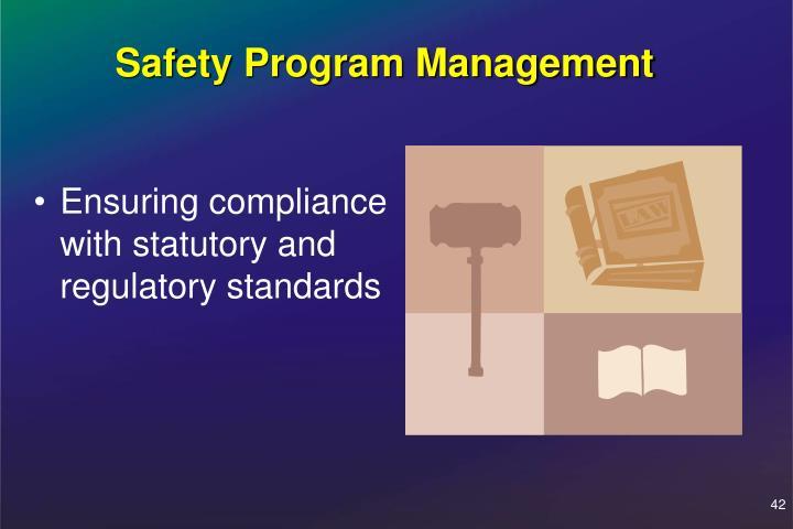 Safety Program Management