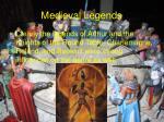 medieval legends