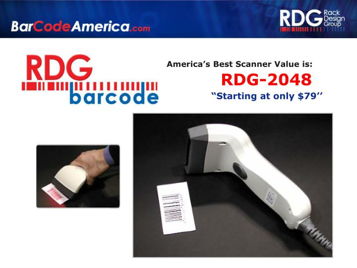 America's Best Scanner Value is: