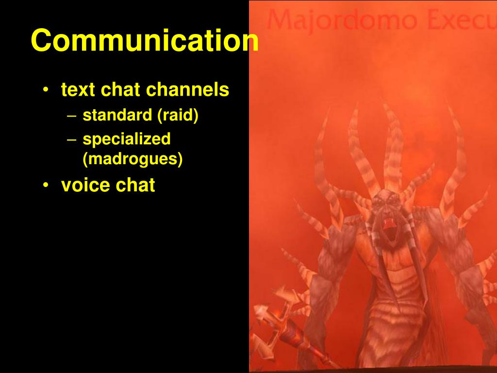 text chat channels